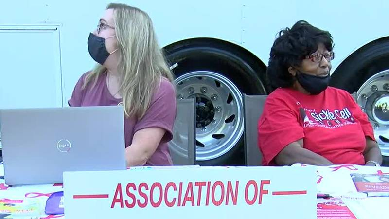 Sickle cell mobile unit stops at Columbus church