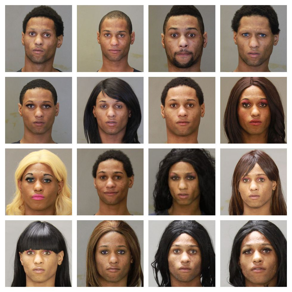 Suspect in SunTrust bank robbery on 13th St. in Columbus has 16 different mugshots