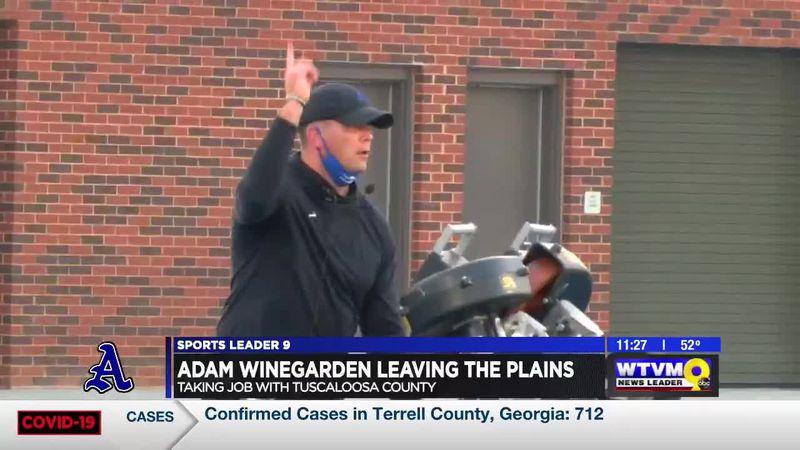 Head Football Coach Adam Winegarden leaving Auburn High