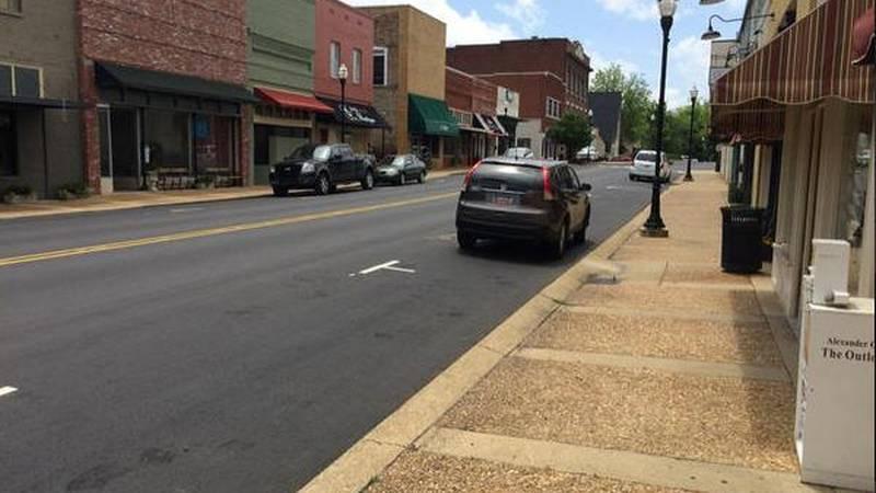 Downtown Alex City, Alabama.