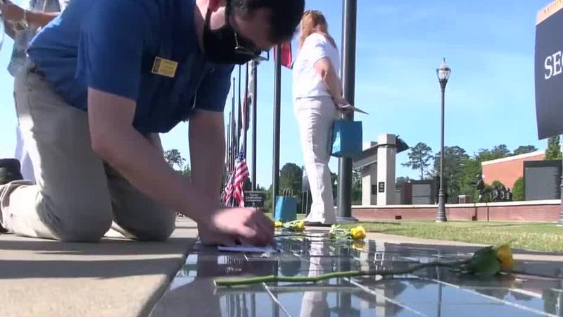 National Infantry Museum holds Memorial Day ceremony.