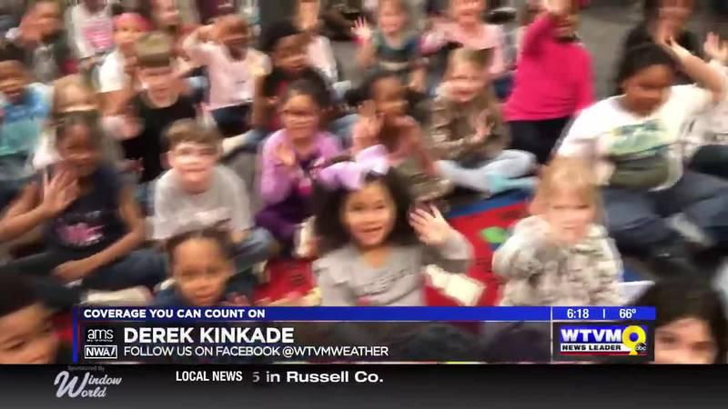 Derek Visits the 1st Graders at Callaway Elementary!