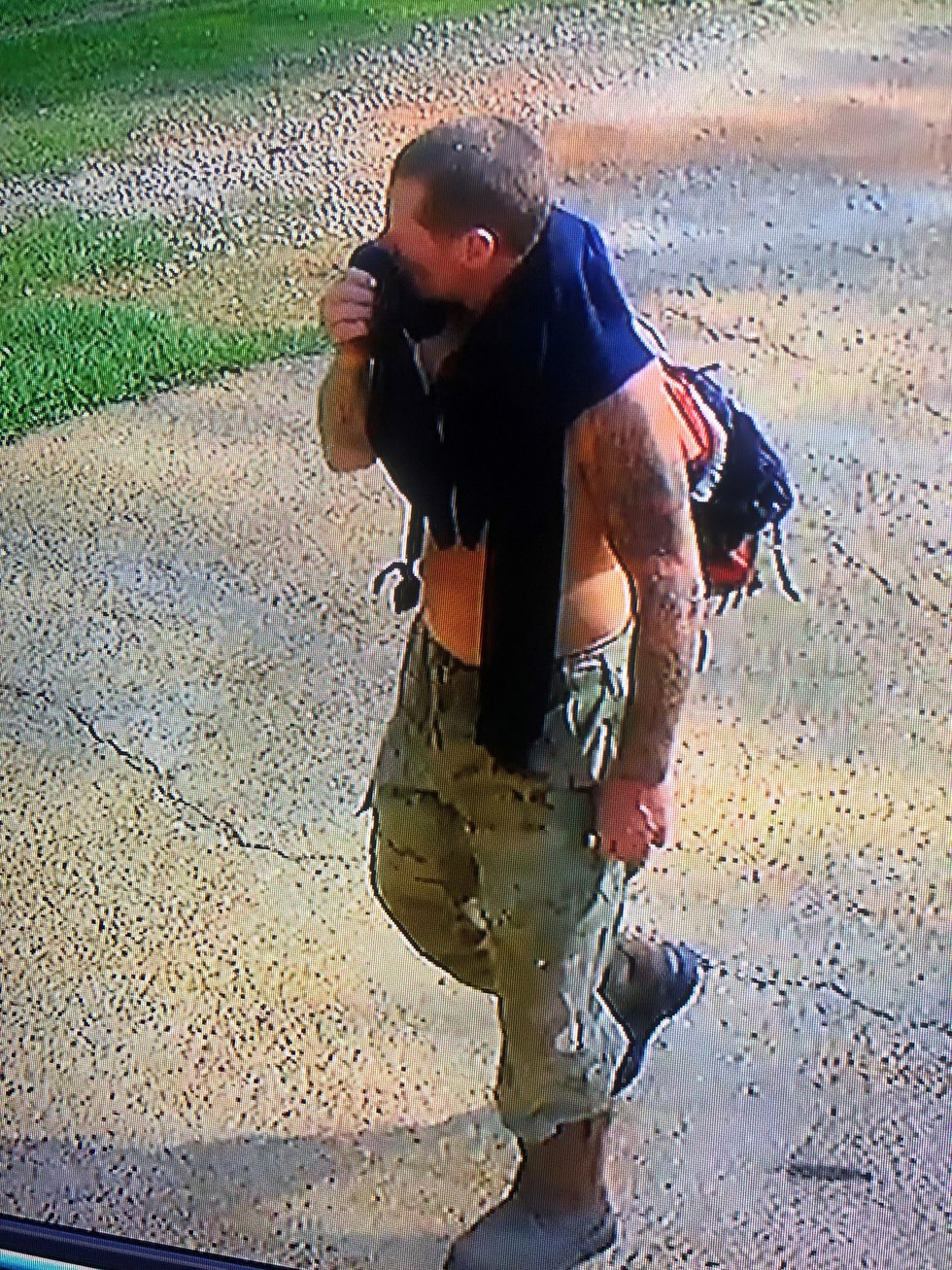Opelika police searching for property theft suspect