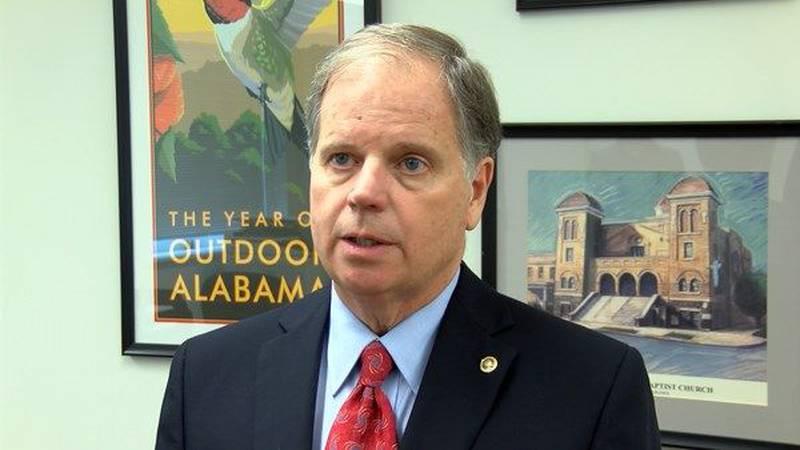 U.S. Senator Doug Jones (Source: WSFA 12 News file photo)