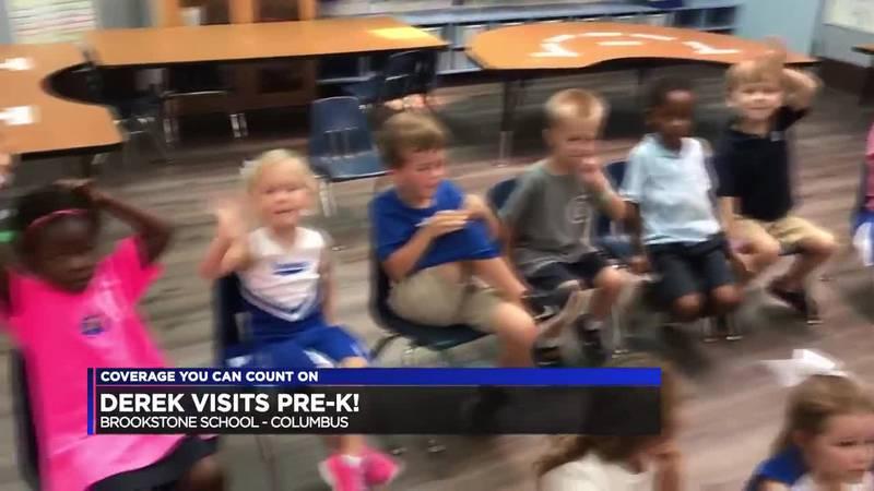 Derek Visits the Pre-K at Brookstone!