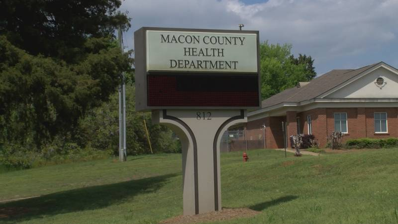 COVID-19 testing will begin at the Macon County Health Department on Monday.