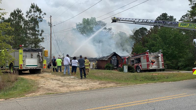 House fire on Lato Rd. in Seale destroys couple's home
