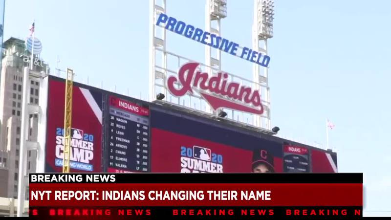 New York Times: Cleveland Indians to change team name after 105 years