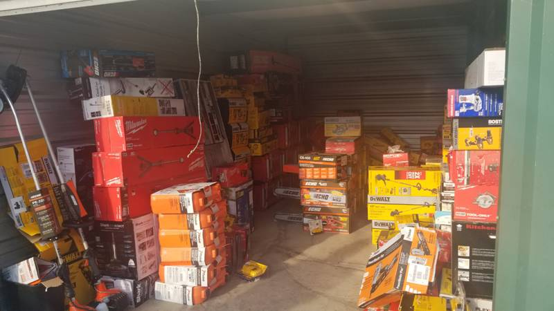 Thousands of dollars in stolen merchandise was recovered in a theft ring investigation on July...