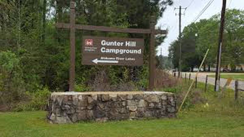 Alabama tourism officials hope campers will return to Gunter Hill Park in 2021.