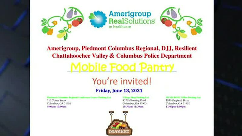 Amerigroup, local partners to host mobile food pantry