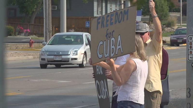 cuba protests in rapid city
