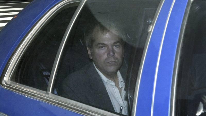 In this Nov. 18, 2003, file photo, John Hinckley Jr. arrives at U.S. District Court in...