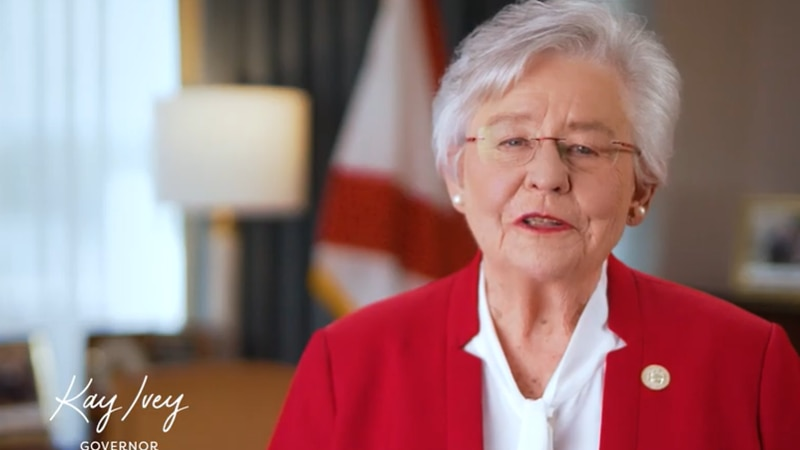 Gov. Ivey announced she is seeking a second term in office.