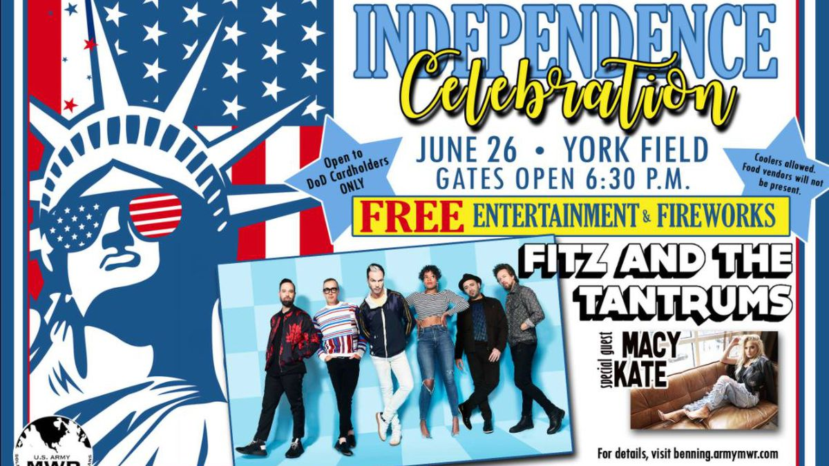 Fort Benning to hold annual Independence Celebration