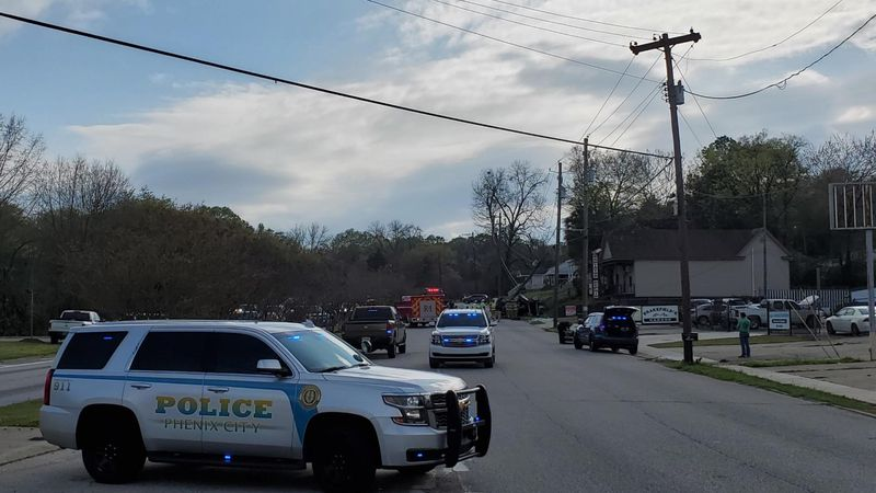 Accident on Broad St. in Phenix City leads to heavy police presence