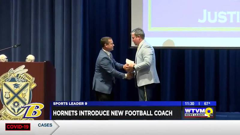 Jones introduced as new Hornets head football coach