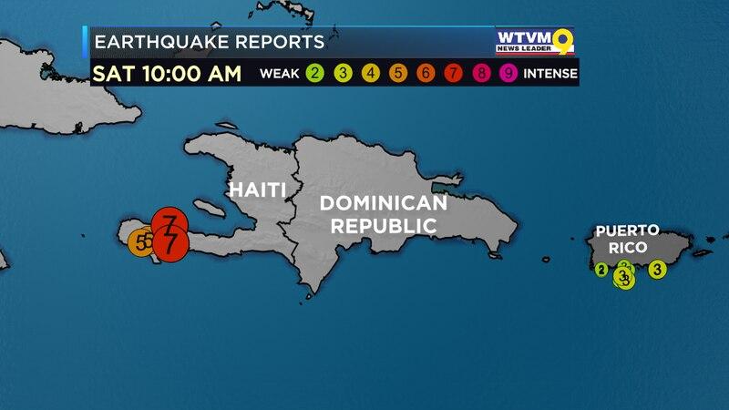 Strong Earthquake Strikes Haiti