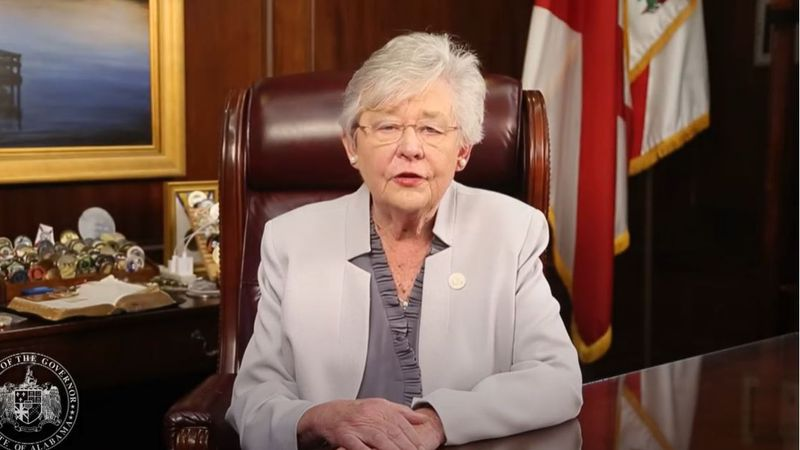 Alabama Gov. Kay Ivey declared a state of emergency Tuesday morning ahead of Hurricane Delta.