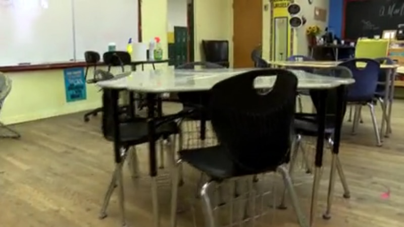 More schools in Alabama are moving to virtual learning because of the pandemic.