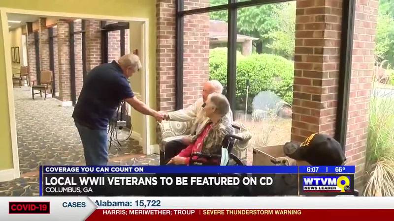 Songs from Columbus World War II veterans to be featured on CD