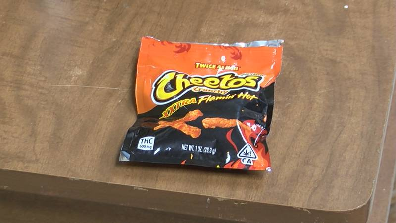 The marijuana-laced spinoff of the popular cheese snack is packed with 600 milligrams of THC.