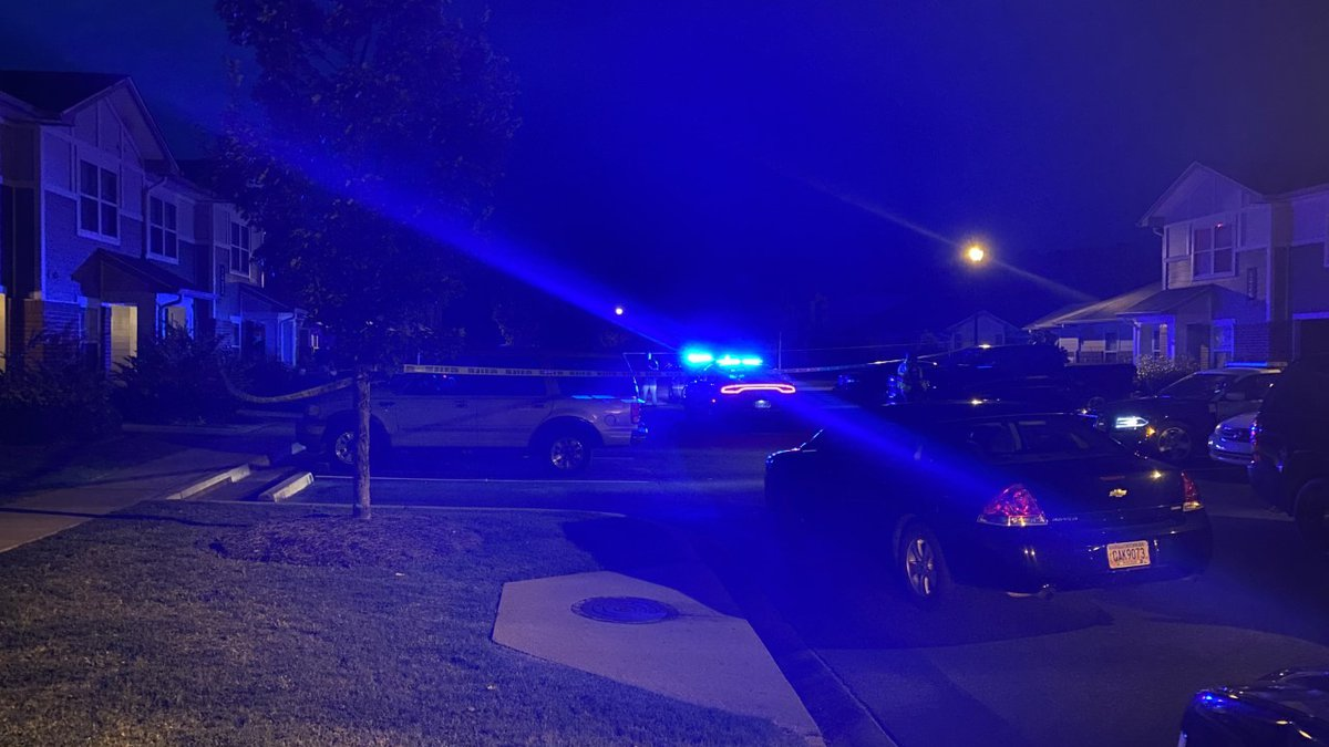 Heavy police presence at Arbor Pointe Apartments in Columbus