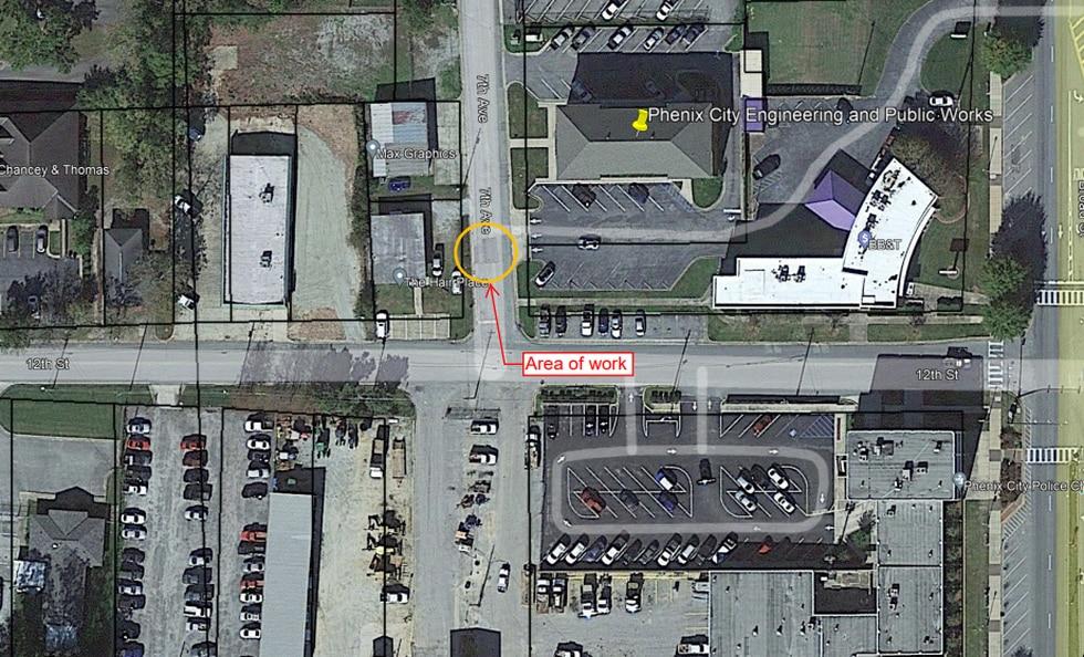 7th Avenue Closure Map