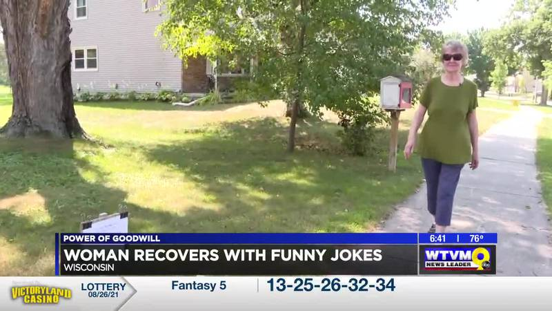 Power of Goodwill: Wisconsin Woman Recovers with Funny Jokes