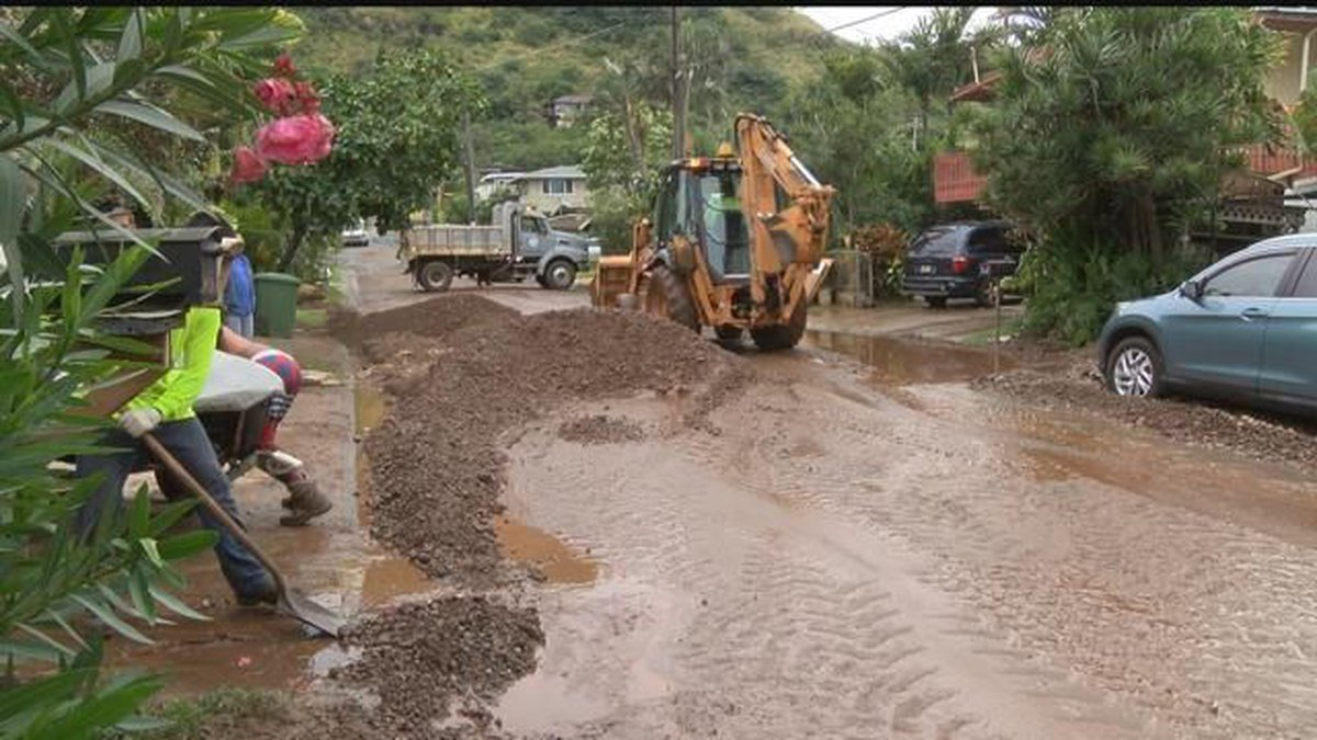 Heavy rains drench state